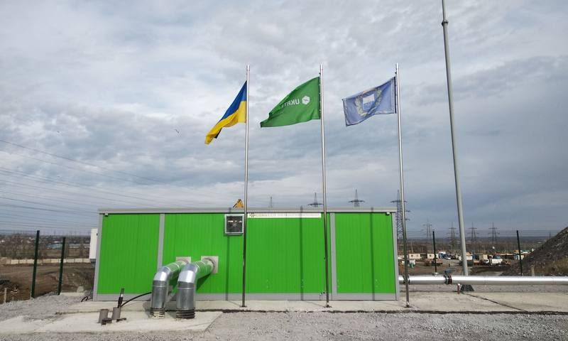 Biogas stations